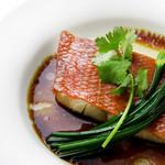 星期菜 - 新鮮鮮魚の香り蒸し