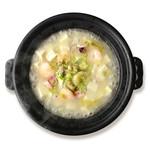 星期菜 - 星期菜のスペシャリテ 白い麻婆豆腐