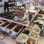 釧路ロイヤルイン - 揚げ物と温野菜コーナー