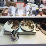 釧路ロイヤルイン - 地元食材(焼魚と釧路ナポリタン)コーナー