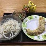 オハラうどん - 料理写真:合計で400円(税込)