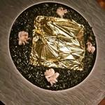 黄金のイカスミリゾット