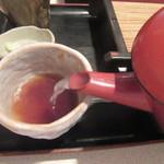 蕎麦茶屋 和久 - 蕎麦湯は自然体