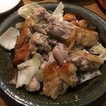 酒場きんぼし - 鶏もも肉 白焼1380円