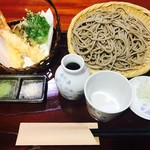 蕎都 - 料理写真:天せいろの田舎