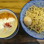 92365044 - 海老泡つけ麺+味玉