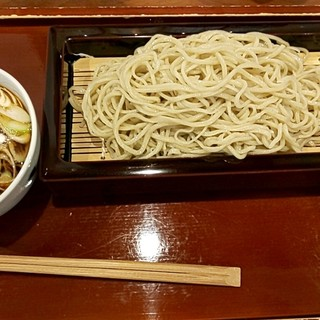 みやじま達磨 - 料理写真:鴨せいろ 1,400円(税込)