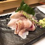 板前寿司 - のどぐろの刺身 850円