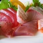 魚問屋 助八 - お刺身定食