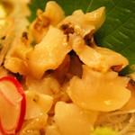 須崎魚河岸・魚貴 - サザエの刺身