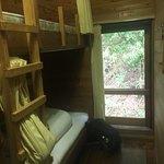 二軒小屋ロッヂ - お部屋はこんな感じ   部屋名 きすげ