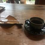 二軒小屋ロッヂ - 朝食アフターコーヒー