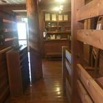 二軒小屋ロッヂ - 入口カウンター