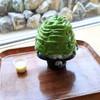 Cafe LUKE rainbow garden - 料理写真:西尾抹茶のエスプーマかき氷