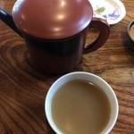 寿楽庵 - 濃いめのそば湯がうまい