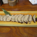 ファミリーダイニング小玉屋 - 料理写真:八色・天恵菇の刺身