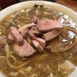 麺 高はし - 乱切りチャーシュー麺