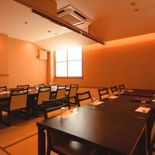 ★上質な個室空間は、各種宴会からお祝い事まで幅広く対応-。