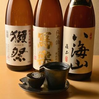 ★料理を際立てる♪厳選した日本酒や果実酒が充実♪
