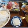魚善 - 料理写真:'18/09/08 さしみ定食(税込1,080円)