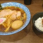 92376031 - 味玉中華そばと肉味噌ご飯
