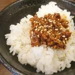 92376035 - 肉味噌ご飯