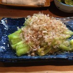 中津川 - 「茄子焼き」 丼で食べたかった。