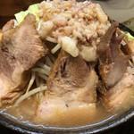 ラーメン 盛太郎 - チャーシュー麺(これで並盛り)