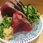 割烹 熊谷 - 炙り鰹