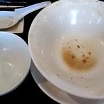 つけ麺 一翔 - 完全!完食完飲٩(♡ε♡ )۶