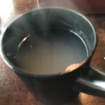 茶の子 - そば湯