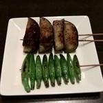 鳥焼 グレゴリー - 野菜焼き