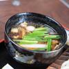 ひびき庵 - 料理写真:鴨汁(かもじる)