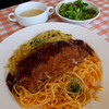 ラ・ヴォーノ - 料理写真:ヴォーノ風トルコライス(大盛り)850円(大盛りプラス100円)