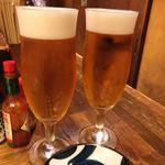 月ふたつ - 生ビール♪