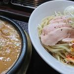 92389232 - 鶏ドロつけ麺+麺大♪