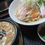 92389234 - 鶏ドロつけ麺+麺大♪