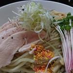 92389237 - 鶏ドロつけ麺+麺大♪