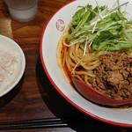 92389548 - 汁なし坦々麺+追い飯