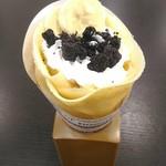クレープモンスター - 【2018/9】オレオホイップ生バナナのクレープ