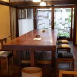 そば切り文目堂 - ☆開放感のあるテーブル席(*^_^*)☆