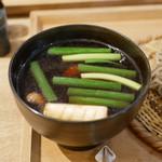 そば切り文目堂 - ☆濃厚な味わいの鴨汁(#^.^#)☆