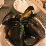 れすとらんマツモト - ムール貝の白ワイン蒸し
