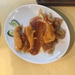 金寶來 - イカのチリソース炒め
