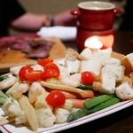 Bistro The Meat - 【コース】チーズフォンデュ  (おかわりOKらしい。してないけど)