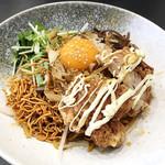 雅知 - 料理写真:汁なし煮込みそば(辛)¥750
