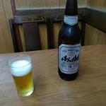 宝美園 - ビール大580円