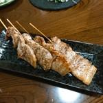 居酒屋 ゆらり - 豚串 160円×4本