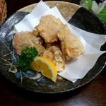 居酒屋 ゆらり - 音更産鶏の唐揚げ 600円