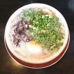 なみへい - 博多ラーメン半熟煮玉子入り 750円